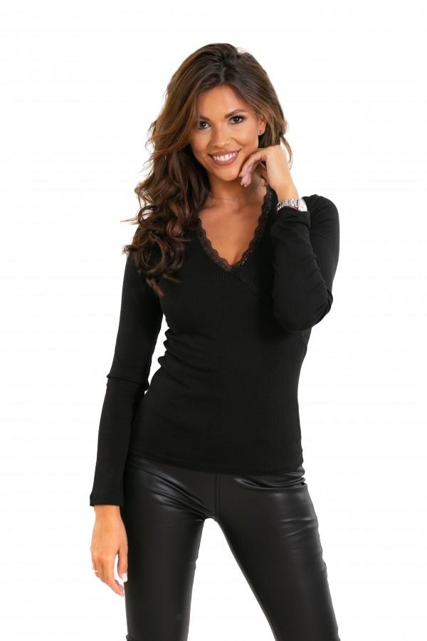 Bluza neagra  IT-BL01X