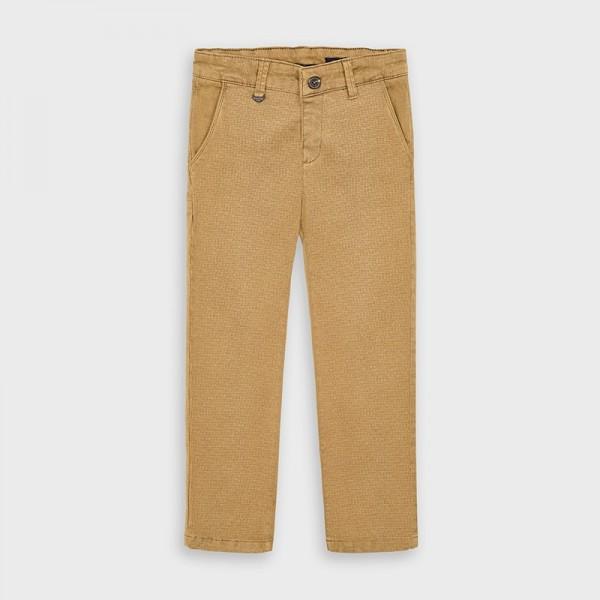 Pantaloni crem chino imprimeu baiat MAYORAL 4529 MYPL107Y