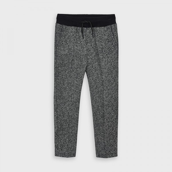 Pantaloni gri plus imprimeu baiat MAYORAL 4532 MYPL108Y