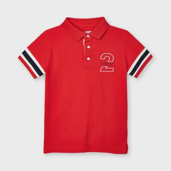 Tricou polo rosu baiat MAYORAL 3112 MYBL72X
