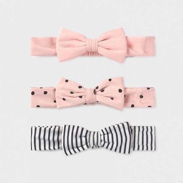 Set 3 diademe roz fundite fetita MAYORAL 9385 MYBENT02X
